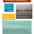 """Mostra  """"Altamura 1980. improvvisazioni tra fotografia e performance """" di Roberto Roda"""