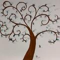 """Ospedale della Murgia, un albero della vita """"fiorisce"""" in area Covid"""
