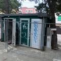 Rimossi i bagni chimici in piazza Moro