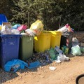 Ancora degrado per abbandono di rifiuti, qui periferia via Carpentino