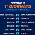 Calcio, prima di campionato: la Team farà visita al Cerignola