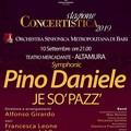 """""""Synphonic Pino Daniele: Je so' pazz """", concerto dell'Orchestra della Città metropolitana"""