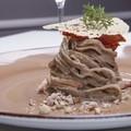 "Ricetta salata ""Linguina di castagna ai sapori murgiani"