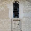 Vetrata della Cattedrale danneggiata da scoppio di botti