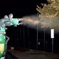 Zanzare, intervento di disinfestazione notturna