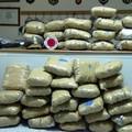 Corriere albanese trasportava 45 chilogrammi di marijuana