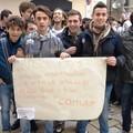 Scuola, l'ITIS G. Galilei protesta