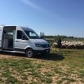 Un laboratorio mobile per esami su latte e benessere animale
