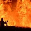 Incendio in località Grottamarallo, intervento tempestivo dei Vigili del Fuoco di Altamura