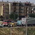 Statale 96, un altro incidente sulla circonvallazione