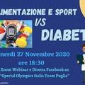 """Webinar su """"Alimentazione e Sport vs Diabete"""""""
