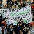 Stamattina si manifesta contro la riforma Gelmini