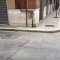 Marciapiedi senza rampe in via dei Mille