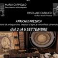 """""""Antichi e preziosi """", al MAD mostra personale di Maria Cappiello e Pasquale Carlucci"""