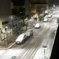 Intensa nevicata ad Altamura