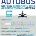 Bus navette per Matera e aeroporto Bari, fra due mesi la scadenza