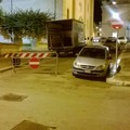 Vandali in piazza Zanardelli