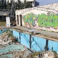 La piscina comunale abbandonata a se stessa