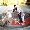 """Ad Altamura un artista del disegno con  """"illusione ottica """""""