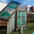 Distrutta dai vandali la serra eco-sostenibile del progetto