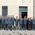 Guardia di Finanza, generale Augelli in visita alla Compagnia di Altamura