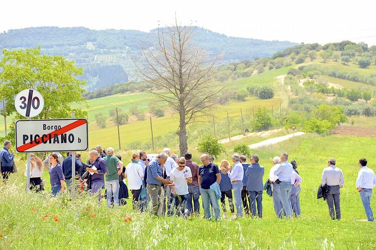 tour nei campi della lenticchia IGP