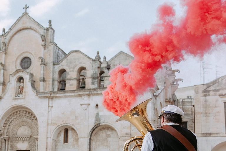 Cerimonia di Matera capitale europea della cultura
