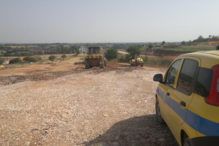 Circonvallazione di Altamura, i nuovi lavori a metà... strada