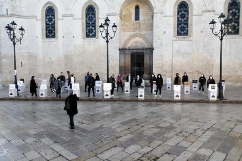 Commercianti in piazza