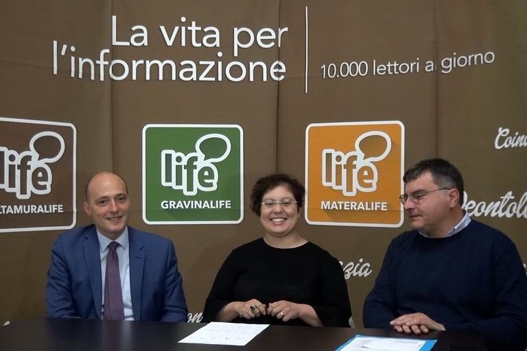 Mario Conca e Enzo Colonna