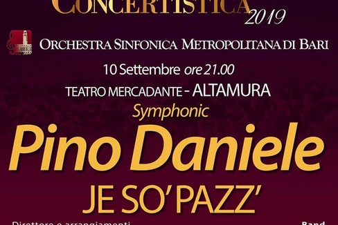 Synphonic Pino Daniele: Je so' pazz