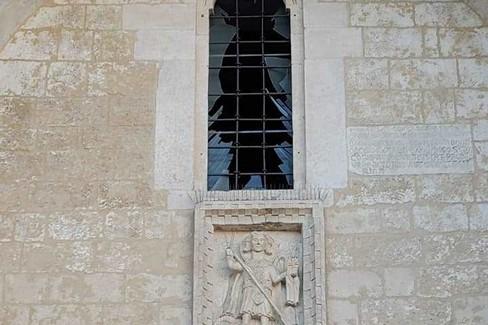 Danni alla Cattedrale