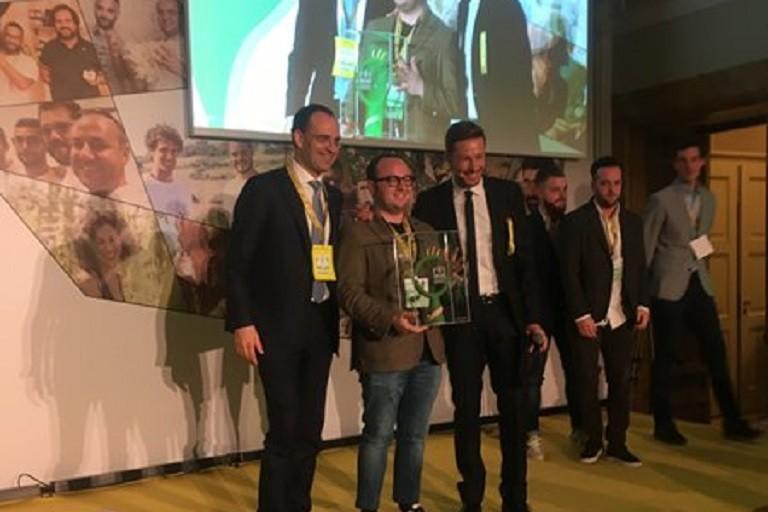 Donato Mercadante riceve premio Oscar Green