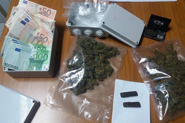 Droga e soldi sotto sequestro