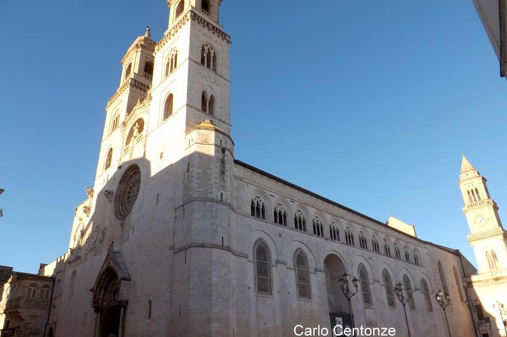 Il Natale proiettato sulla Cattedrale