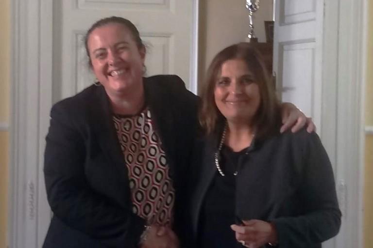 Francesca Cangelli e Rosa Melodia