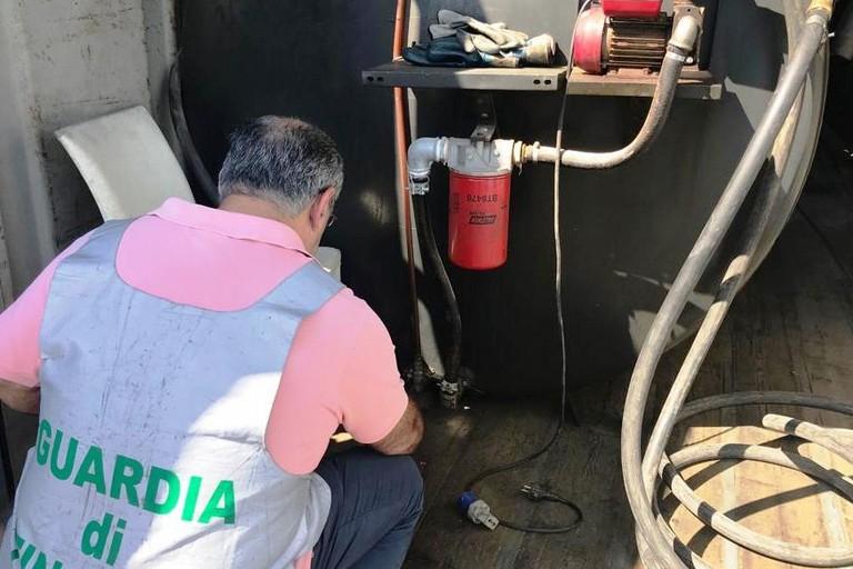 Sequestro di gasolio