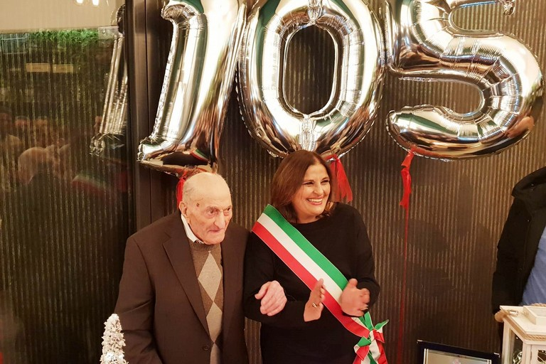Michele Gesualdo festeggia 105 anni