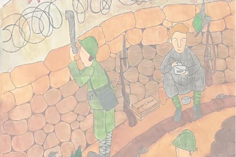 Disegno sulla Grande guerra