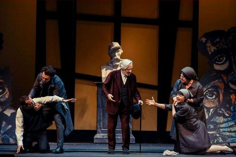 Leo Gullotta al Teatro Mercadante di Altamura - foto Granvarietà