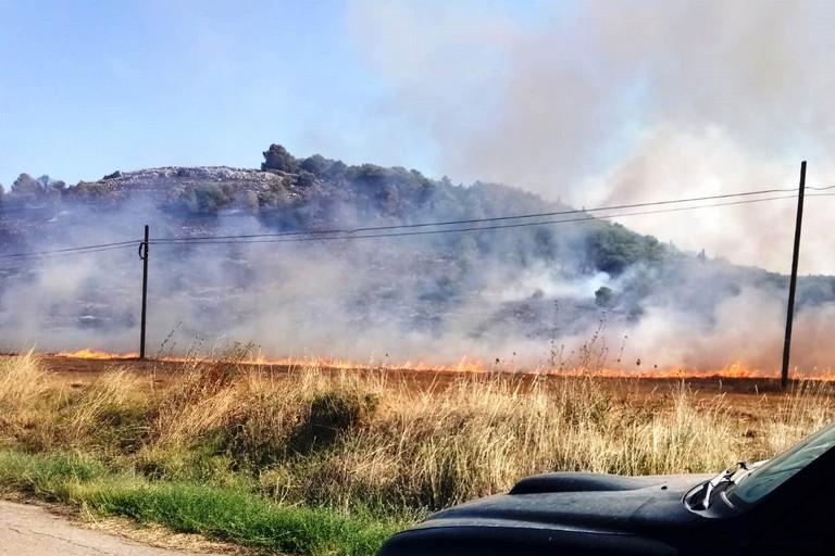 Incendio ad Altamura