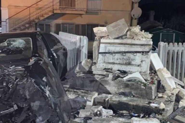 Grave incidente in via Bari