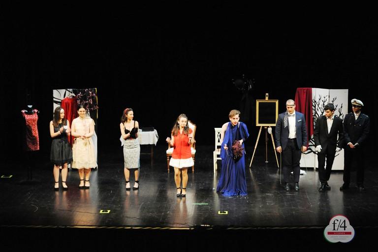 Rassegna di teatro scolastico dell'Ites Genco - foto F4