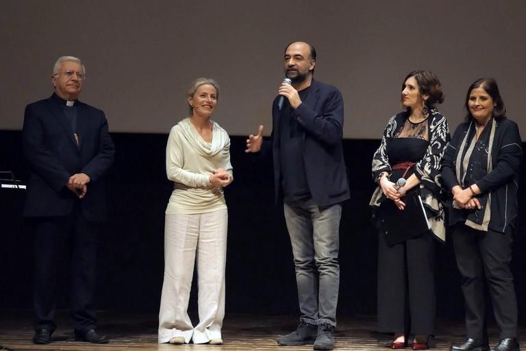 Da sin. Ricchiuti, Giagnoni, Cannito, De Santis, Melodia
