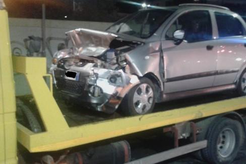 Auto dell'incidente del 19 ottobre 2019