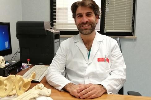 Claudio Mori-  nuovo primario ortopedia