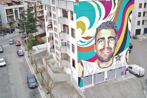 Murale per Domi Martimucci