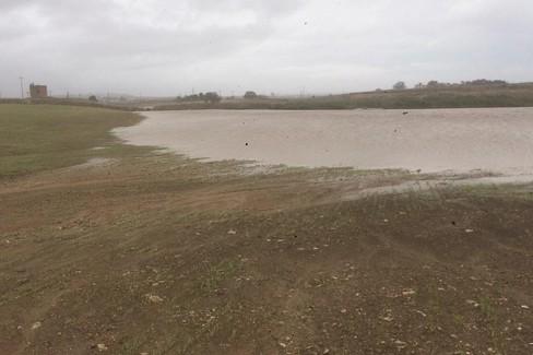 Esondazione del torrente Jesce nelle campagne di Altamura