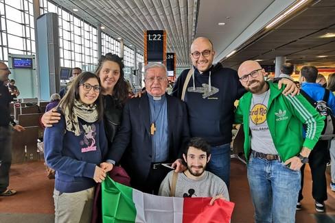 Vescovo Ricchiuti e Diocesi murgiana a Panama