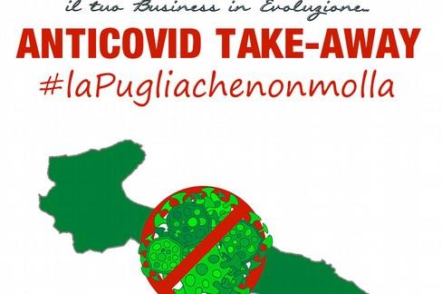 Anticovid take – away: la prima app anticrisi per la Puglia che non molla